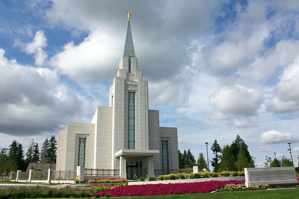 Vancouver British Columbia Temple