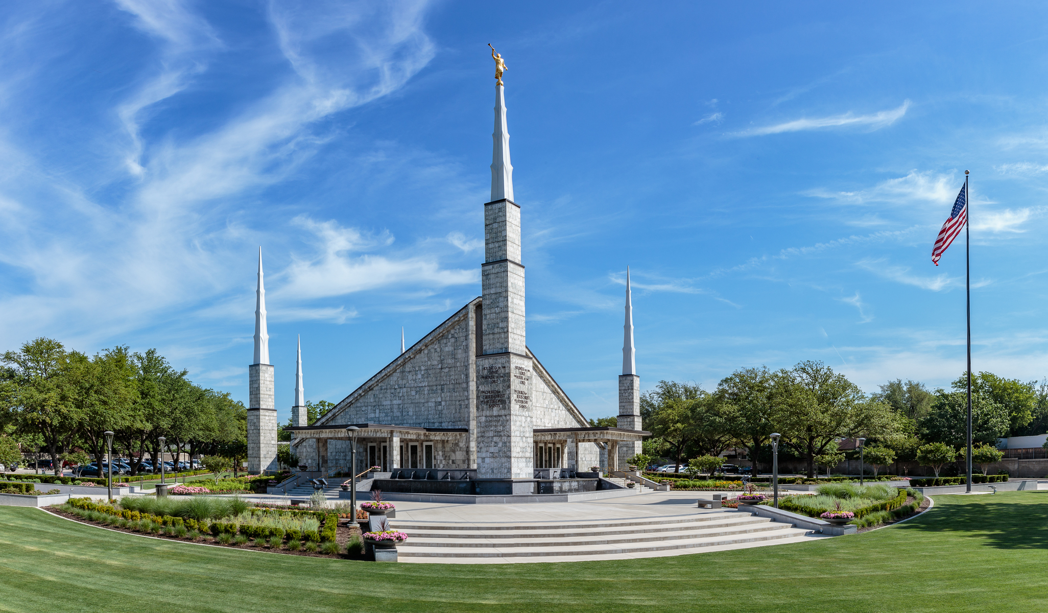 Dallas Texas Latter-day Temple Model The Church of Jesus Christ of Latter-day Saints LDS Statue