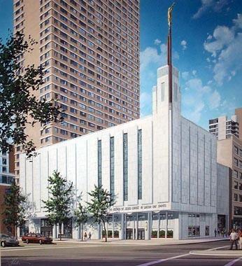 Manhattan New York Temple Photograph Gallery