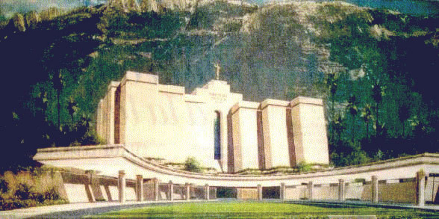 Original Design for the Monterrey Mexico Temple