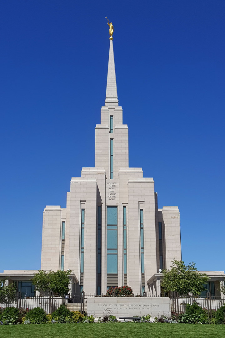 Oquirrh Mountain Utah Temple