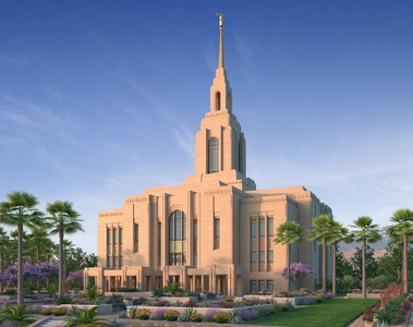 Red Cliffs Utah Temple