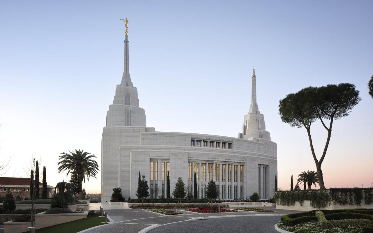 Italian Florence: Rome Italy Temple Photograph Gallery
